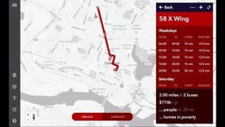 bus route planning program