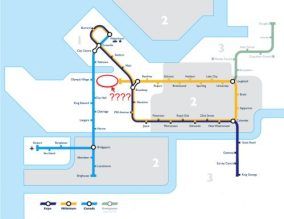 transit network vancouver map