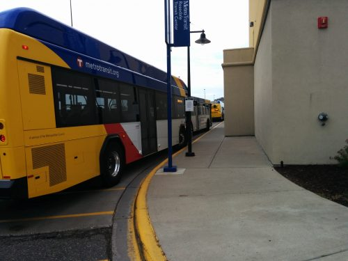 No room at Gate A for all the buses!