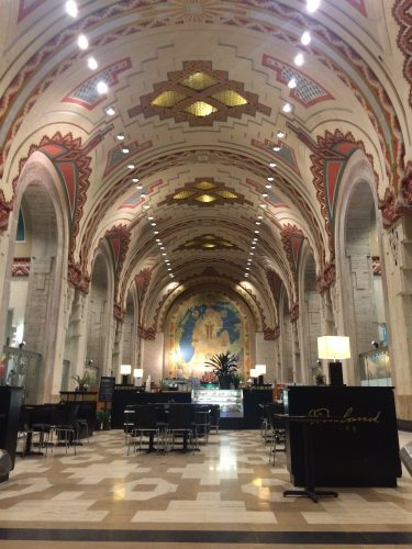 Lobby of the Guardian Building
