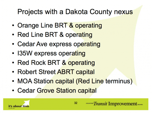 "Orange Line as having a ""Dakota County Nexus"""