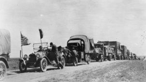 eisenhower interstate trip 1956