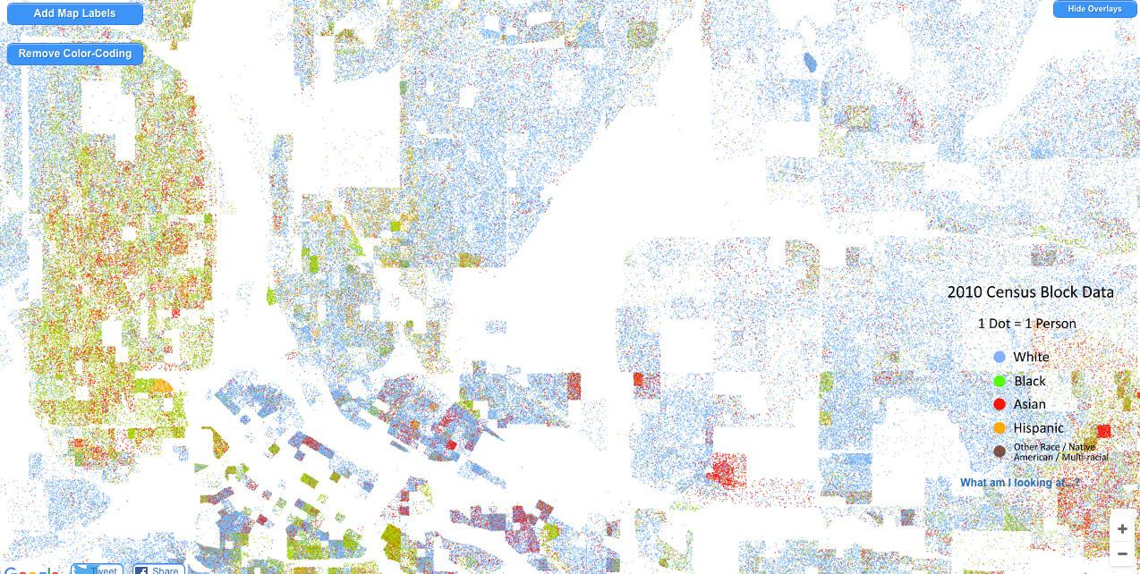 Dot Map on