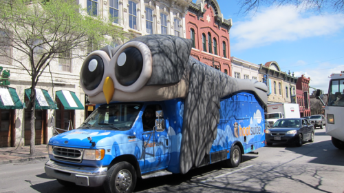 A way to make Night Owl buses more fun to ride?