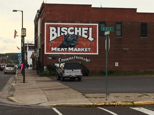 Ghost sign in Chippewa Falls