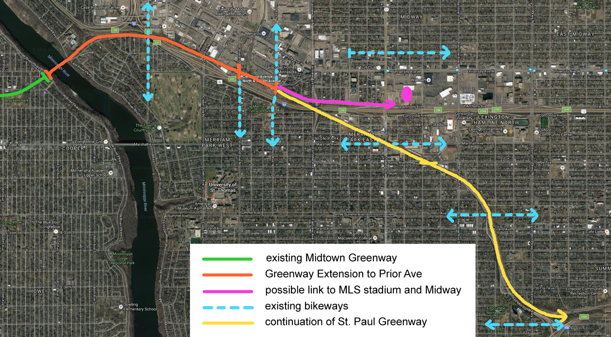 A Saint Paul Greenway Extension