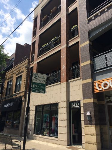Infill Development on Southport Avenue, Chicago