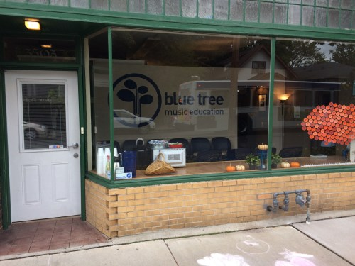 Blue Tree Music Frontage