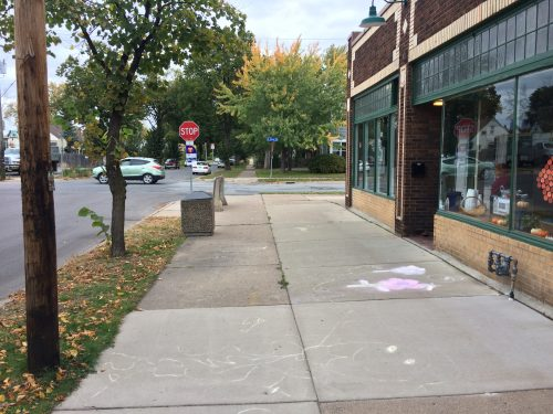 Public Realm in Front of Blue Tree Music