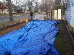 That's big tarp.