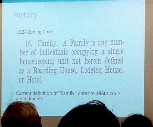 Minneapolis' 1924 definition of a family was surprisingly liberal.