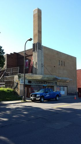 The Hollywood Theater, Currently Undergoing Renovation