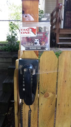 A Phone to Bypass a Potentially Dog-Filled Yard?
