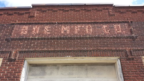 Boe Manufacturing Company Sign at 951 Hennepin Ave E