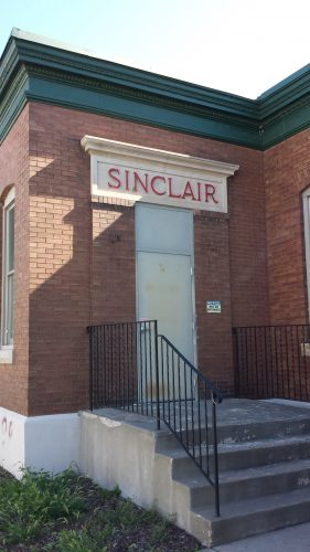 1901 Grand Street NE, the SInclair Depot