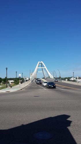 The Lowy Avenue Bridge