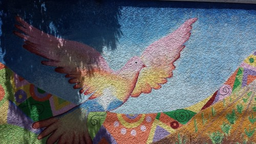 Detail from the Mural on 4164 Cedar Avenue South