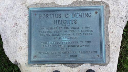 In Memory of Portius C. Deming