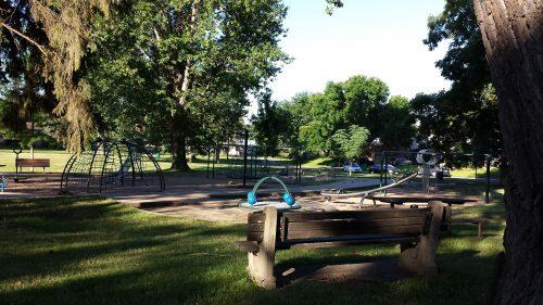 Playground at Reserve Block 40 Park