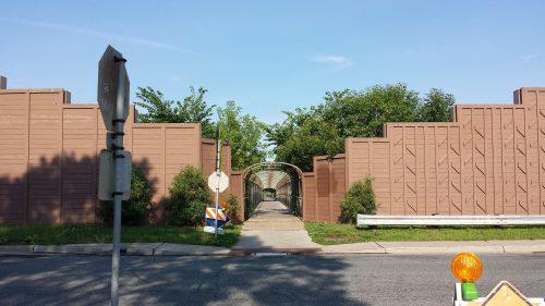 40th Street Pedestrian Bridge to King Field Neighborhood