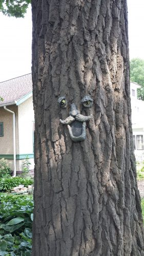 Tree on the Sheridan Avenue Cul-de-Sac