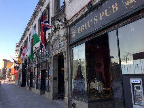 Brit's Pub - Best Frontage in Downtown