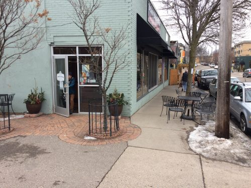 Parking Meets Building Meets Sidewalk