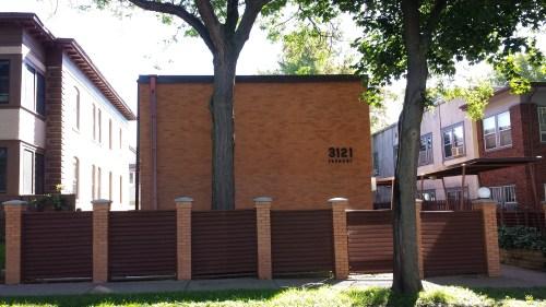 Sideways Five-Unit Apartment Building (1963), 3121 Fremont Ave S