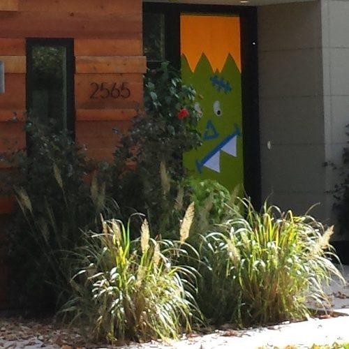 Front Door Detail, 2565 Burnham Road