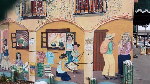 Mural on East SIde of 211 E. Lake St.