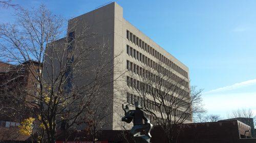Riverside Professional Building and West Building Entrance Sculpture