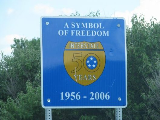 """A Symbol of Freedom"", celebrating 50 years of the law providing a funding mechanism for the interstates."