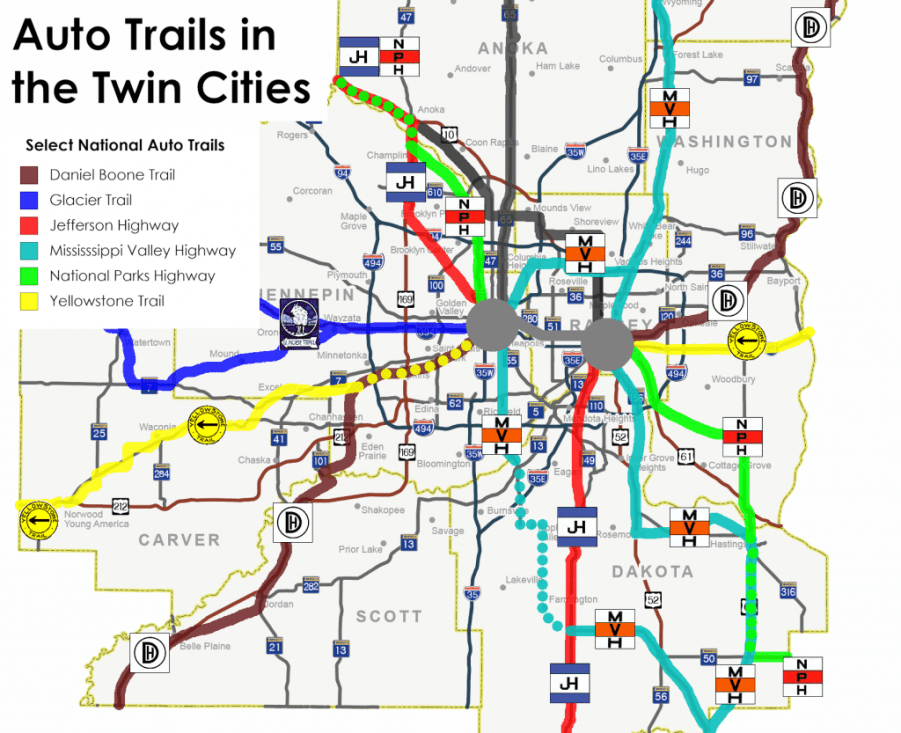 Twin Cities Auto Trails
