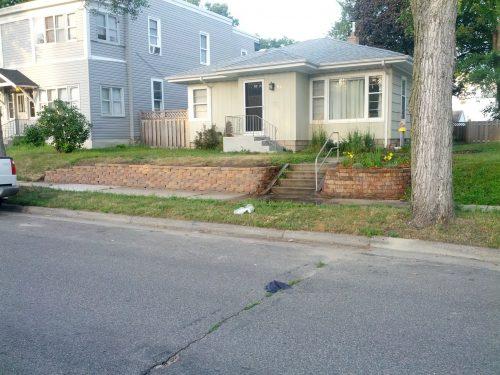 A Minneapolis single-family home