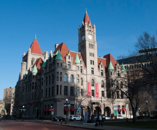 Landmark Center Washington St View