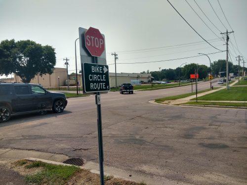 20th Street in New Ulm, MN