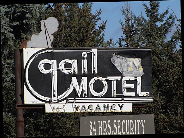 Gail Motel Sign