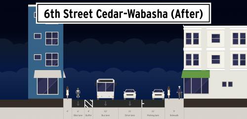 Image of 6th Street Cedar Wabasha After