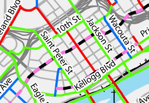 Downtown St. Paul Bike Plan