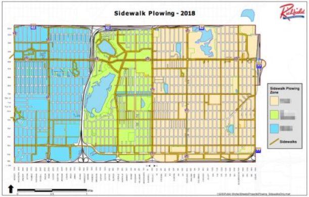 Richfield Sidewalk Plowing Zones