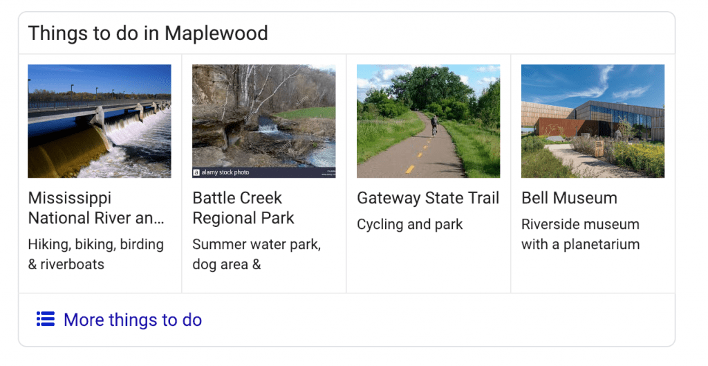 Things to Do in Maplewood