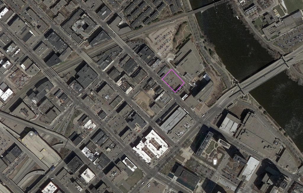 Archive North Loop Satellite Image