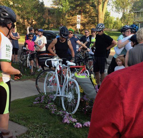 Summit & Snelling Ave - Alan Grahn Memorial Ride