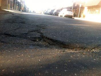 Stp Victoria St Pothole Day