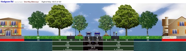 Hodgson Rd OneWay Bikeways ppf12 9