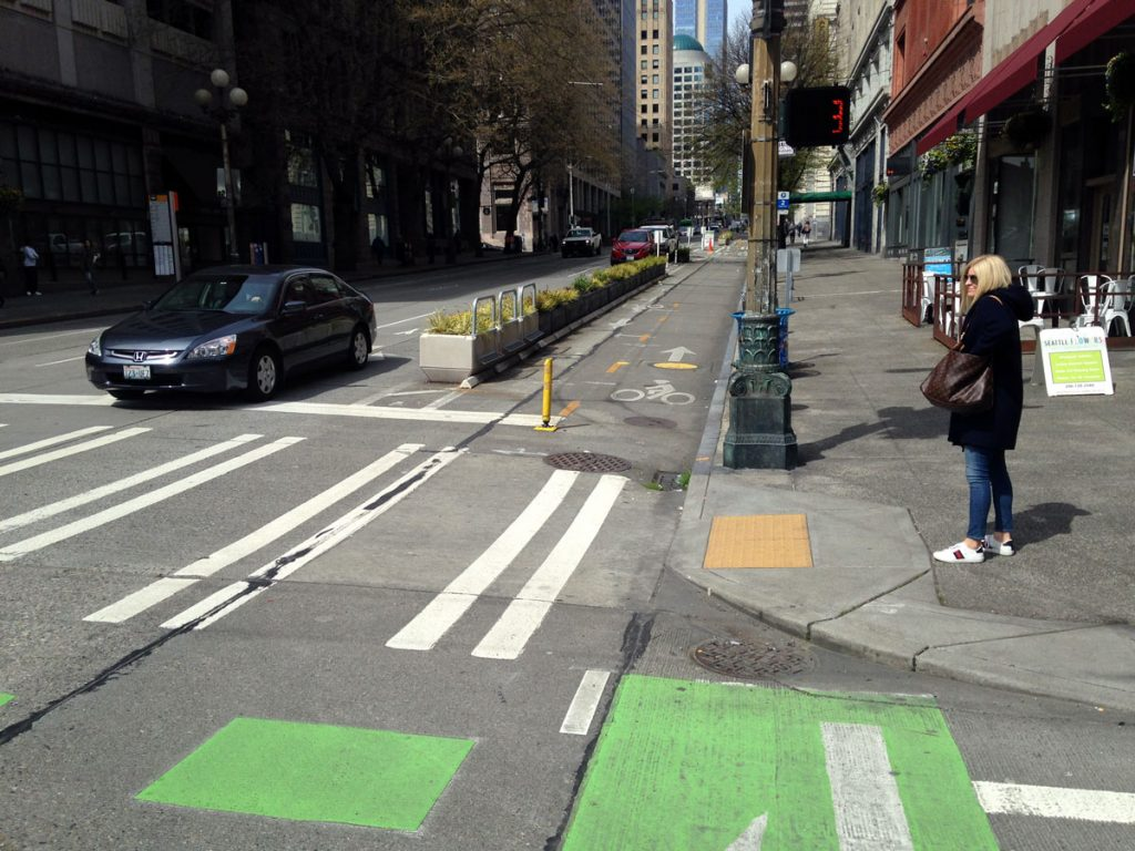 Seattle Bike Lane 1