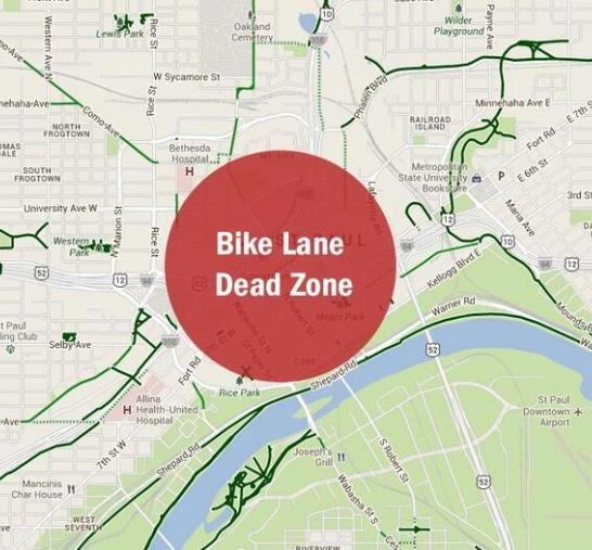 Stp Bike Lane Dead Zone