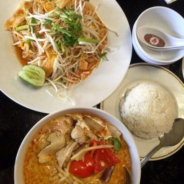 Photo of Thai dishes served at On's Kitchen