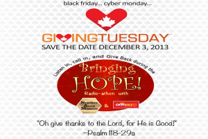 Giving Tuesday BringingHope