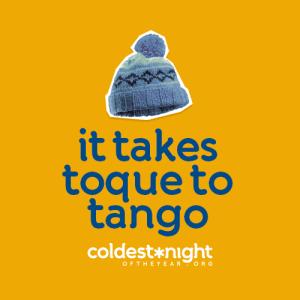 It takes toque to tango